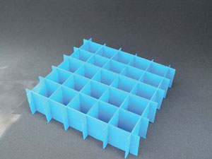Corrugated Plastic Partitions